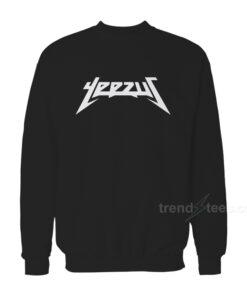 Yeezus Logo Kanye West Sweatshirt