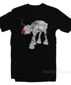 Star Wars AT-AT Antlers T-Shirt