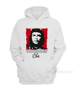 Che Guevara White Hoodie