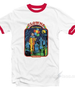 Clowns Are Funny Ringer Shirt