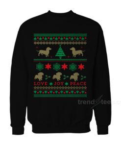 Dog Dachshund Ugly Christmas Sweater