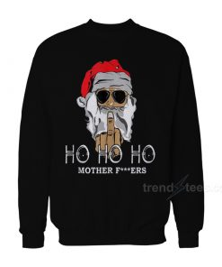 Rude Santa Christmas Sweater