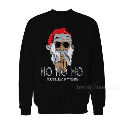 Rude Santa Christmas Sweater