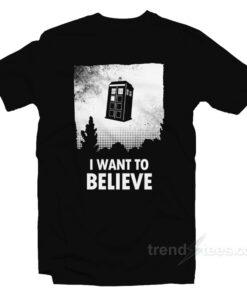 I Want Believe Parody T-Shirt