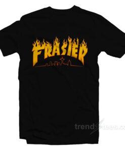 Thrasher Frasier Fire Logo T-Shirt
