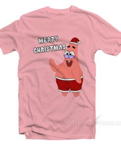 Merry Christmas Patrick Star T-Shirt