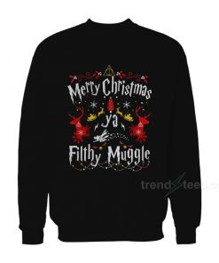 Merry Christmas Ya Filthy Muggle Harry Potter Sweater