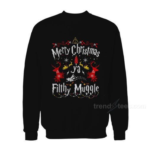 Merry Christmas Ya Filthy Muggle Harry Potter Sweater