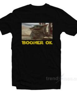 Ok Boomer Baby Yoda T-Shirt