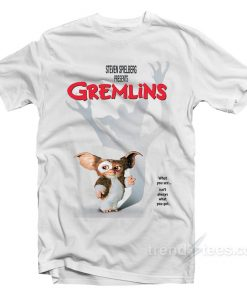 Retro Gremlins Movie Poster T-Shirt