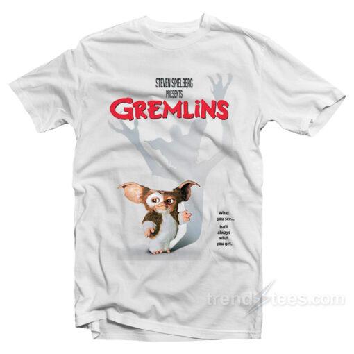 Retro Gremlins Movie Poster T-Shirt