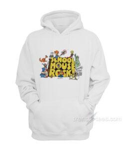 School House Rock Cartoon Education Teacher Cool Hoodie