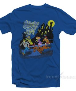 Scooby Doo Gang Running From Mystery T-Shirt