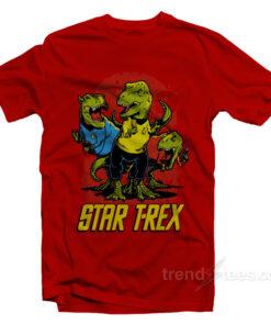 Star T-Rex Dinosaur T-Shirt