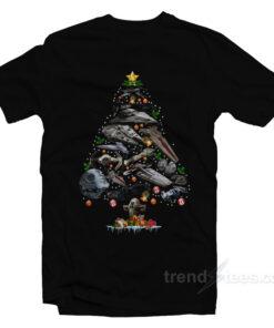 Star Wars Ships Christmas Tree T-Shirt