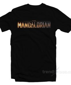 Star Wars The Mandalorian Logo T-Shirt