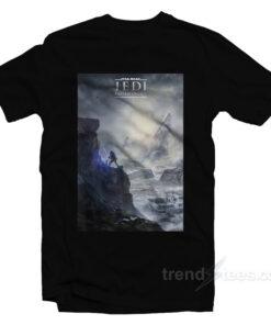 Star Wars Jedi Fallen Order Teaser Poster T-Shirt
