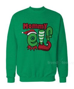 Mommy Elf Christmas Sweatshirt