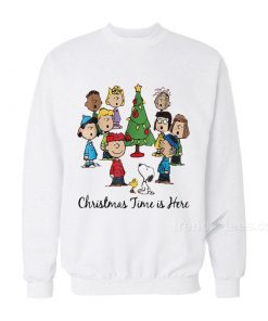 The Peanuts Gang Christmas Time Is Here Sweater