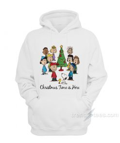 The Peanuts Gang Christmas Time Is Here Hoodie