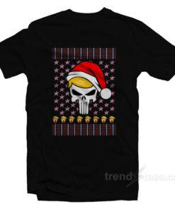 Trump Punisher Christmas T-Shirt