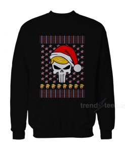 Trump Punisher Christmas Sweater