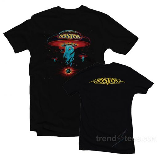 Boston Spaceship Classic Rock Album Cover T-Shirt