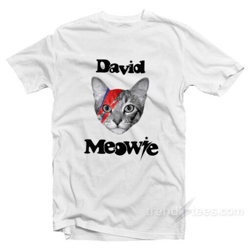 David Mowie Parody T-Shirt