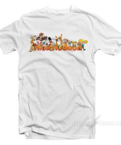 Nickelodeon Cartoons Characters T-Shirt
