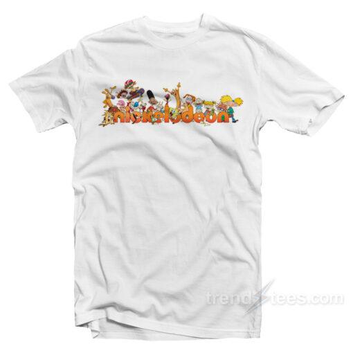 Nickelodeon Cartoons Characters T-Shirt
