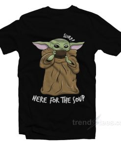 Baby Yoda Dringking Soup T-Shirt