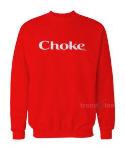 Beyonce Choke Sweatshirt