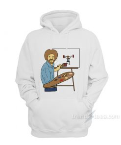 Bob Ross - Beat The Devil Out Hoodie
