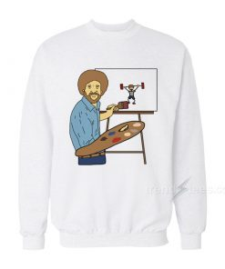 Bob Ross - Beat The Devil Out Sweatshirt