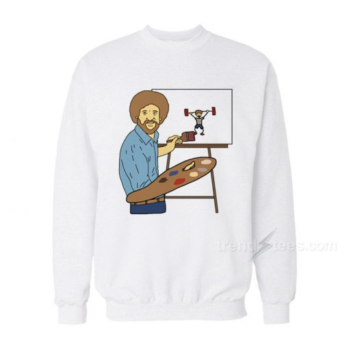 Bob Ross - Beat The Devil Out Sweatshirt