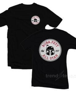 The Mandalorian Boba Fett All Star Logo T-Shirt