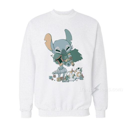 Boba Stich Parody Sweatshirt