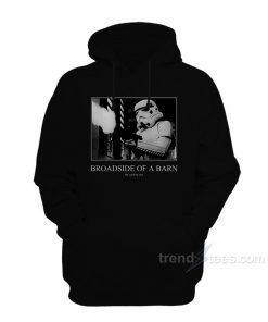 Broadside Of A Barn Hoodie