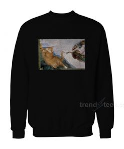 Cat Angelo Sweatshirt