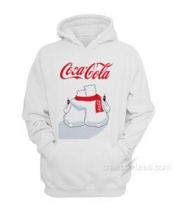 Coca Cola Polar Bear Christmas Hoodie