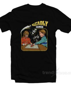 Deadly Games Funny Parody T-Shirt