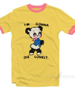 I'm Gonna Die Lonely Harry Styles Ringer Shirt