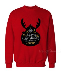 Merry Christmas And Happy New Year Sweatshirt