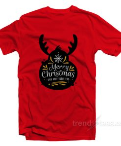 Merry Christmas And Happy New Year T-Shirt