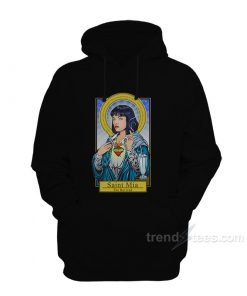 Pulp Fiction Saint Mia Mulder Scully Hoodie
