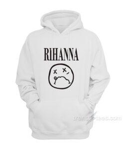 Rihanna On Nirvana Parody Hoodie