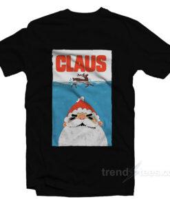 Santa Claus Jaws Parody T-Shirt