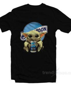 Star Wars Baby Yoda hug Blue Moon Beer T-Shirt