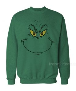Grinch Face Sweater