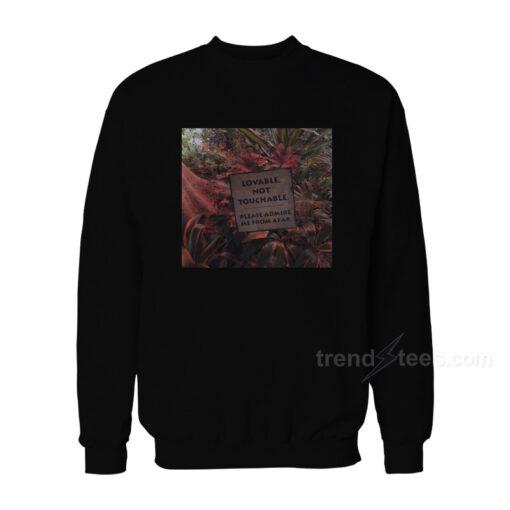 Lovable Not Touchable Sweatshirt